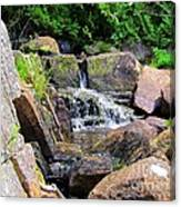 Mini Water Fall Canvas Print