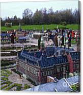 Miniature Friedenspalast Canvas Print