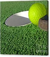 Miniature Golf Canvas Print