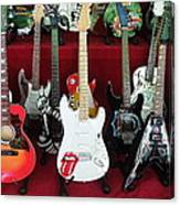 Miniature Guitars Szentendre Hungary Canvas Print