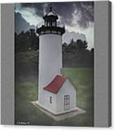 Miniature Lighthouse Canvas Print
