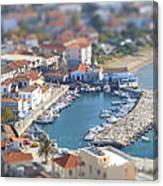 Miniature Port Canvas Print