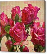Miniature Roses Canvas Print
