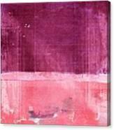 Minima - S02b Pink Canvas Print