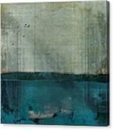 Minima - S02b Turquoise Canvas Print