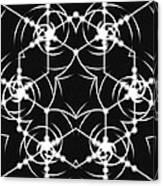 Minimal Life Vortex Canvas Print