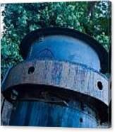 Mining Boiler Canvas Print