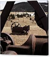 Mining Equipment Canvas Print