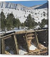 Mining History Canvas Print