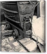 Mining Ore Cart Canvas Print