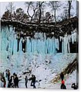 Minnehaha Falls 2 Canvas Print