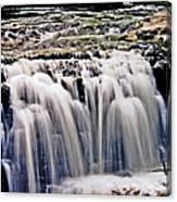 Minneopa Falls Upper Canvas Print