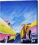 Minnesota Flat Canvas Print