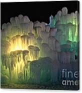 Minnesota Ice Castle 2013 Canvas Print
