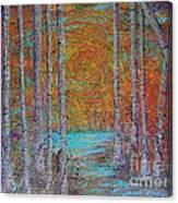 Minnesota Sunset Canvas Print