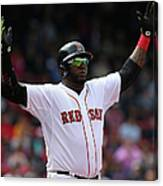 Minnesota Twins V Boston Red Sox - Game Canvas Print