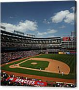 Minnesota Twins V Texas Rangers Canvas Print