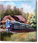 Minnesota Zephyr Canvas Print