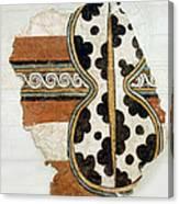 Minoan Livestock Painting Canvas Print