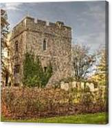 Minster Abbey Gatehouse Canvas Print