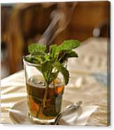 Mint Tea Canvas Print