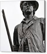 Minute Man Statue Concord Massachusetts Canvas Print