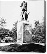 Minuteman Statue Canvas Print