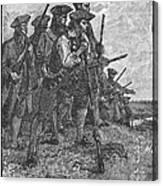 Minutemen, C1776 Canvas Print