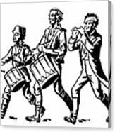 Minutemen: Spirit Of 1776 Canvas Print