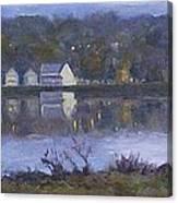 Miramichi River Magic Canvas Print