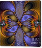 Mirror Butterfly Canvas Print