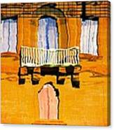 Mirror Image In Malta Canvas Print