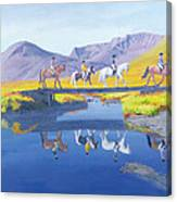 Mirror In The Cairngorms Canvas Print