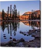 Mirror Lake Dawn Canvas Print