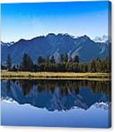 Mirror Lake Panorama Canvas Print