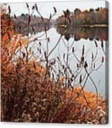 Mirror Smooth River Canvas Print