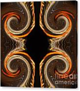 Mirrored Abstract Canvas Print