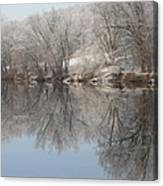 Mirrored Image Canvas Print