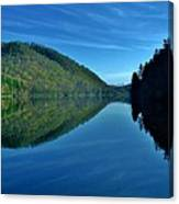 Mirrored In The Lake Canvas Print