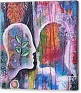 Mirrored Worlds Canvas Print