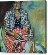 Miss Hattie - Skinning Canvas Print
