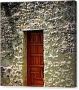 Mission Concepcion - Door Canvas Print