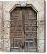 Mission Concepcion Door  Canvas Print