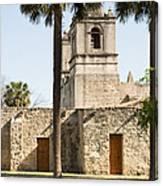 Mission Concepcion In San Antonio Canvas Print