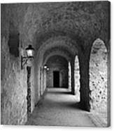 Mission Concepcion Rock Archway Canvas Print