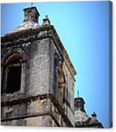 Mission Concepcion - Tower Canvas Print