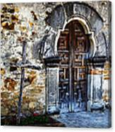 Mission Espada Entrance Canvas Print