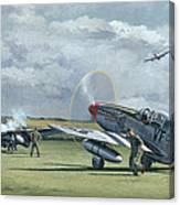 Mission From Debden Canvas Print