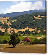 Mission Meadows Solvang California Canvas Print