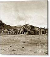 Mission San Antonio De Padua California Circa 1903 Canvas Print